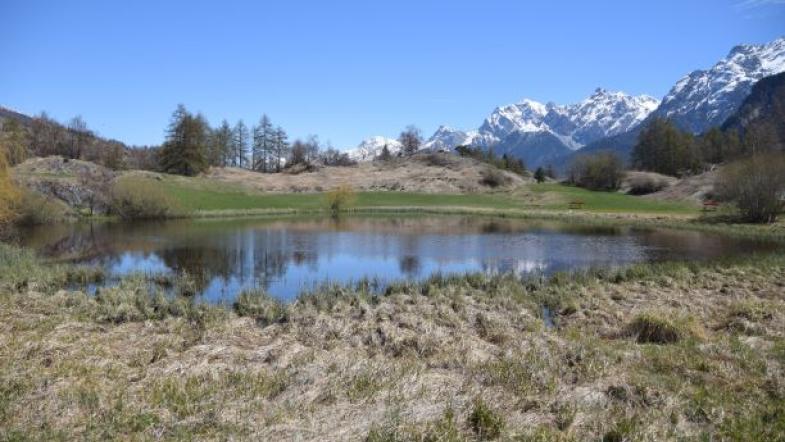 Berglandschaft mir kleinem See
