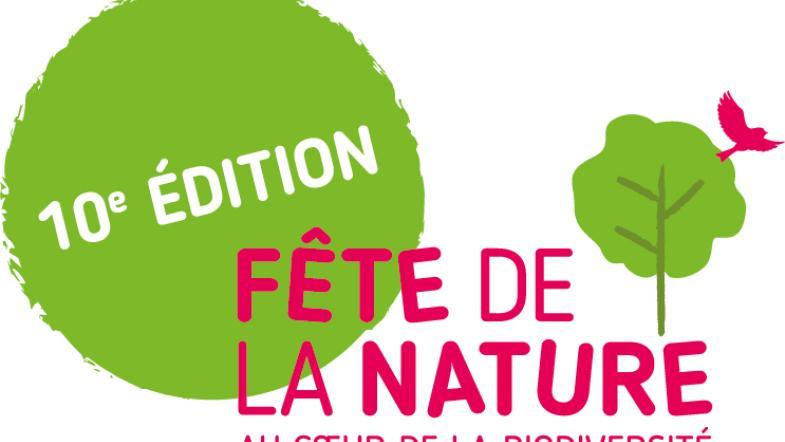 Logo de la fête de la nature, 10e édition