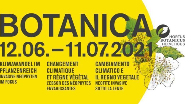 Affiche de Botanica 2021: Changement climatique et règne végétal