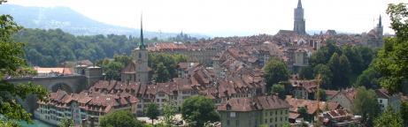 Sicht auf die Stadt Bern
