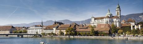 Sicht auf die Stadt Solothurn
