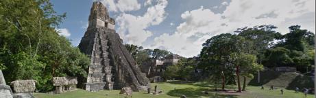 Maya-Pyramide Tikal