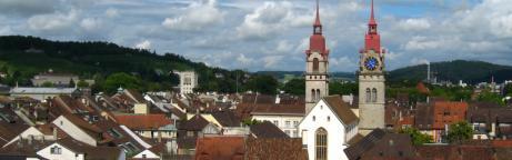 Blick in die Altstadt von Winterthur