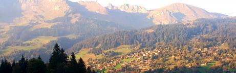 Blick über Alpes vivantes