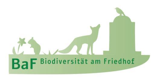 Logo Biodiversität am Friedhof